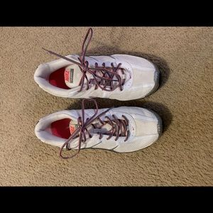 Nike Reax white/silver/pink